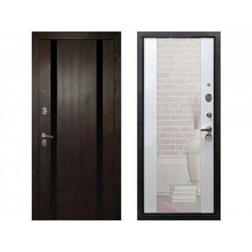 Входная дверь REX Премьер Z3 Зеркало Белый Ясень