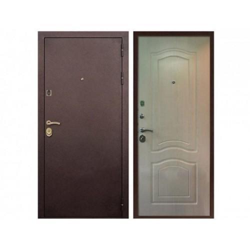 Входная дверь REX Лайт 3К Беленый Дуб