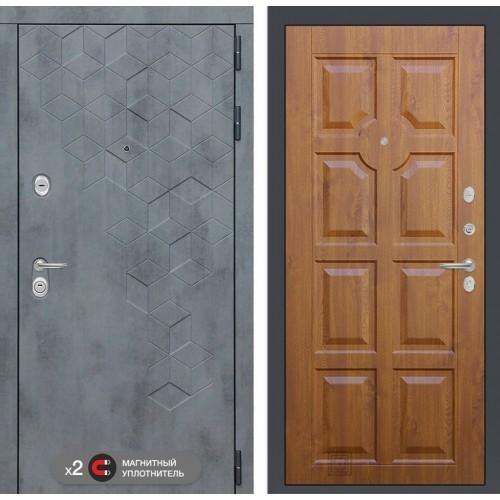 Входная дверь Бетон 17 - Золотой дуб
