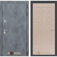 Входная дверь Бетон 04 - Беленый дуб
