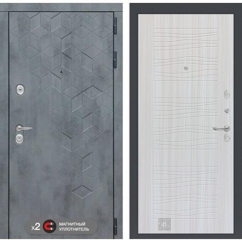 Входная дверь Бетон 06 - Сандал белый