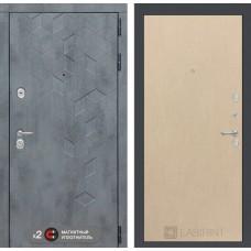 Входная дверь Бетон 05 - Венге светлый