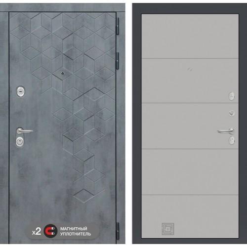 Входная дверь Бетон 13 - Грей софт