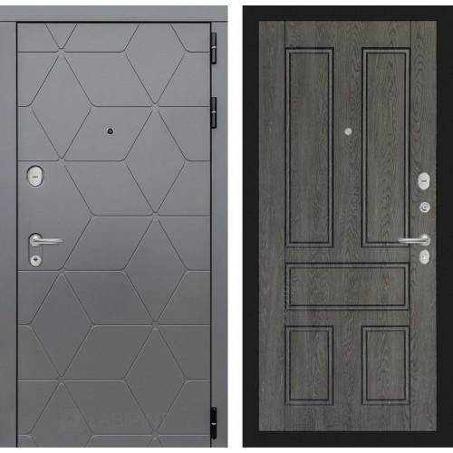 Входная дверь COSMO 10 - Дуб филадельфия графит
