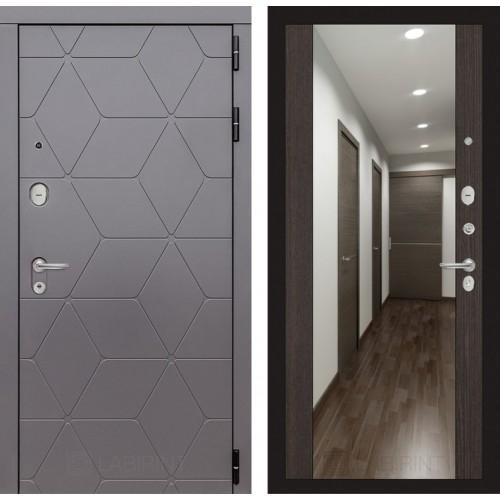 Входная дверь COSMO с зеркалом Максимум - Венге