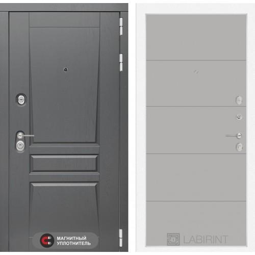 Входная дверь Платинум 13 - Грей софт