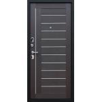 Входная дверь - АСД Дуэт «Орех рифленый»