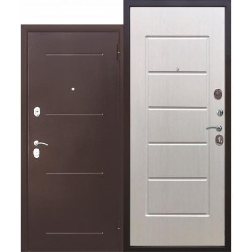 Входная дверь - Гарда Медный Антик Белый Ясень 75мм