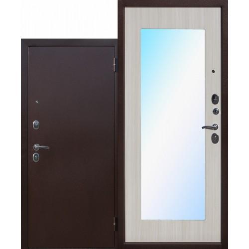 Входная дверь - Царское зеркало МАКСИ Белый Ясень