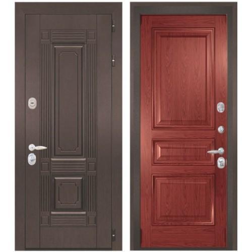 Входная дверь - Интекрон Италия-4 шпон красное дерево