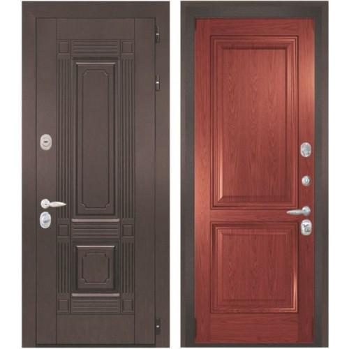 Входная дверь - Интекрон Италия-5 шпон красное дерево