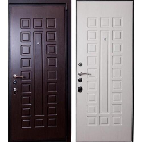 Входная дверь - Лекс 4а Венге-Беленый Дуб
