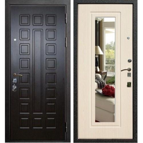 Входная дверь - Лекс Гладиатор с зеркалом 3к