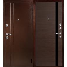 Входная дверь МеталЮр T6 венге