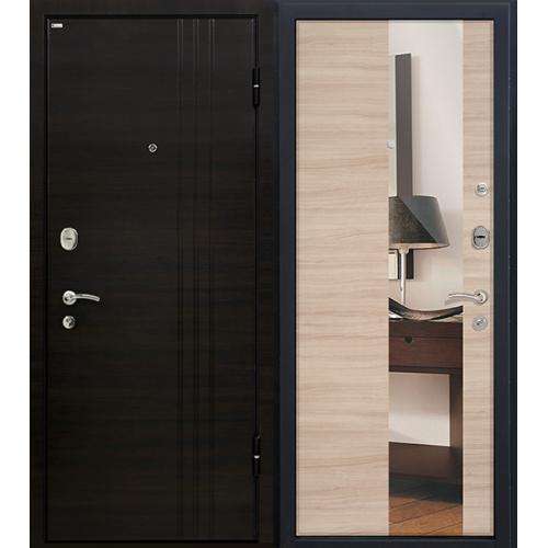 Входная дверь - Входная дверь МеталЮр М15 (капучино кроскут)