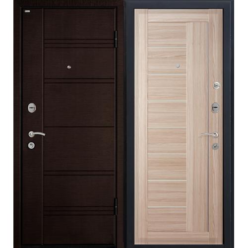 Входная дверь - Входная дверь МеталЮр М17 (капучино мелинга)