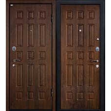 Входная дверь МеталЮр М3 (темный орех)