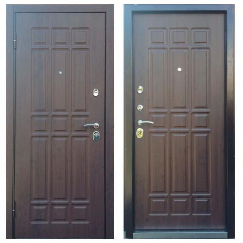 Входная дверь - Персона ТЕХНО 3, Винорит 10мм Дуб моренный рис Р-3