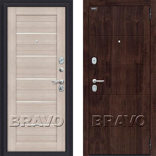 Входная дверь - Porta S 4.П22 (Прайм) Almon 28 / Cappuccino Veralinga