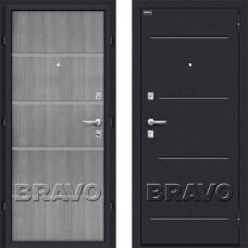 Входная дверь -  Лайн Grey Crosscut