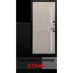 Входная дверь - Ратибор Авангард 3К Лиственница беж