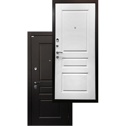 Входная дверь - Ратибор Лондон 3К Матовый белый