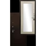 Входная дверь - Ратибор Оптима 3К Зеркало Лиственница беж