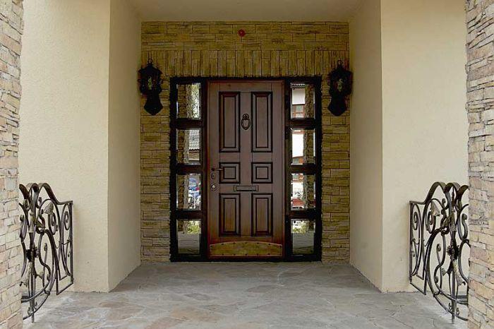 входные металические двери для дома