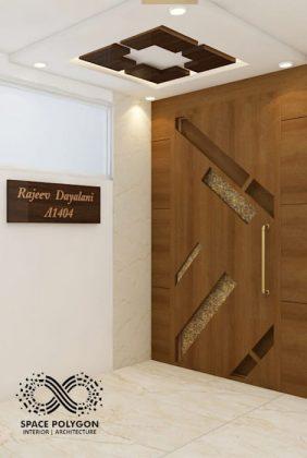 Современная интерпретация классической входной двери