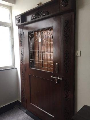 Традиционный индийский стиль для дверей